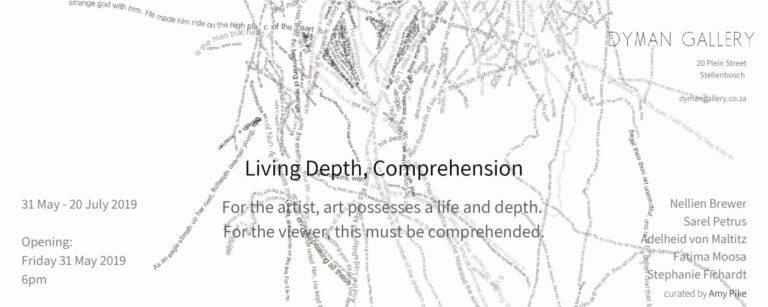 Living Depth - Art exhibition - Stellenbosch - South Africa